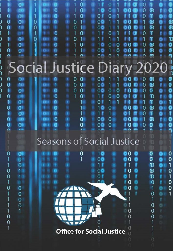 Cover of the Social Justice Diary 2020