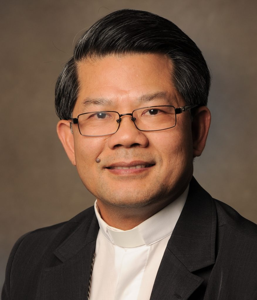 Photo of Bishop Vincent Long