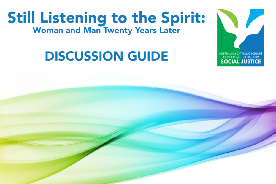 cover of discussion guide to Still Listening to the Spirit