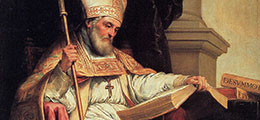 painting of St Isidore of Seville