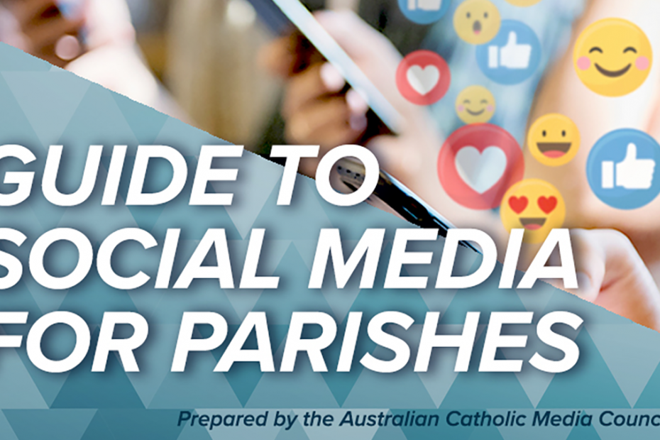 cover of Social Media Guide for Parishes