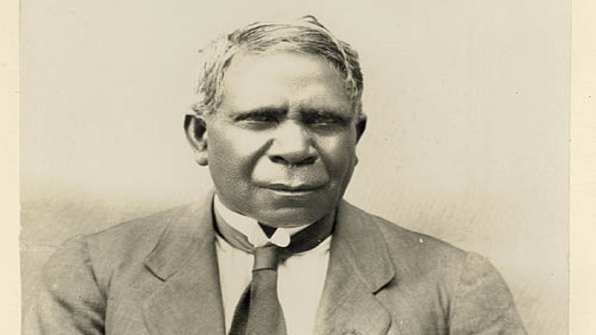 David Unaipon, 1925 (State Library of NSW)