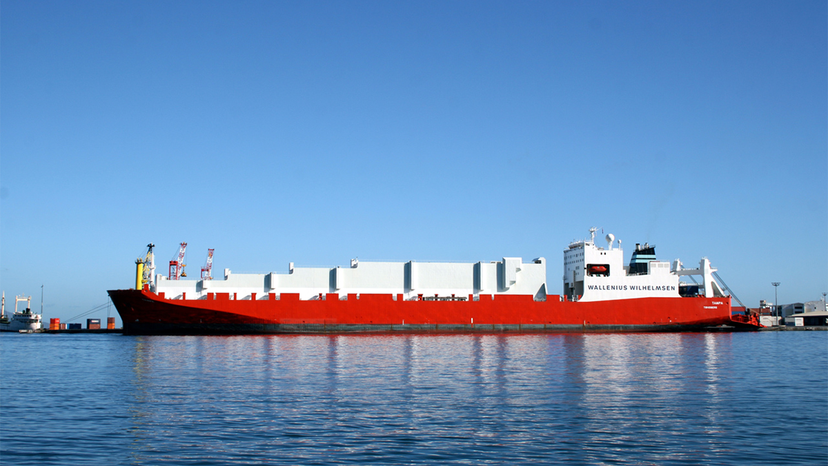 photo of the MV Tampa