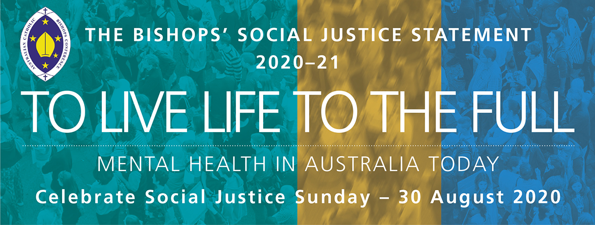 Link to the Social Justice Sunday Statement 2020-21 resource page.