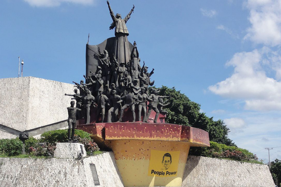 EDSA people power monument Manila
