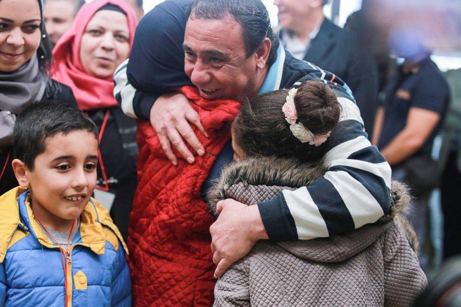 Refugee Family Reunites
