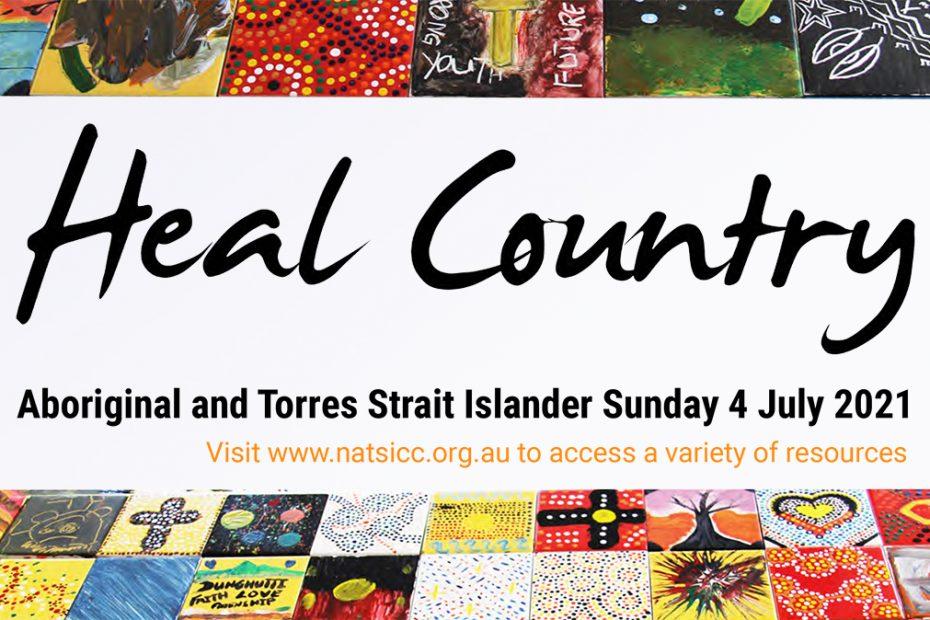 Aboriginal and Torres Strait Islander Sunday logo - Healing Country