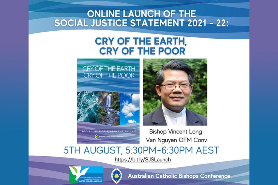 Social Justice Statement Launch